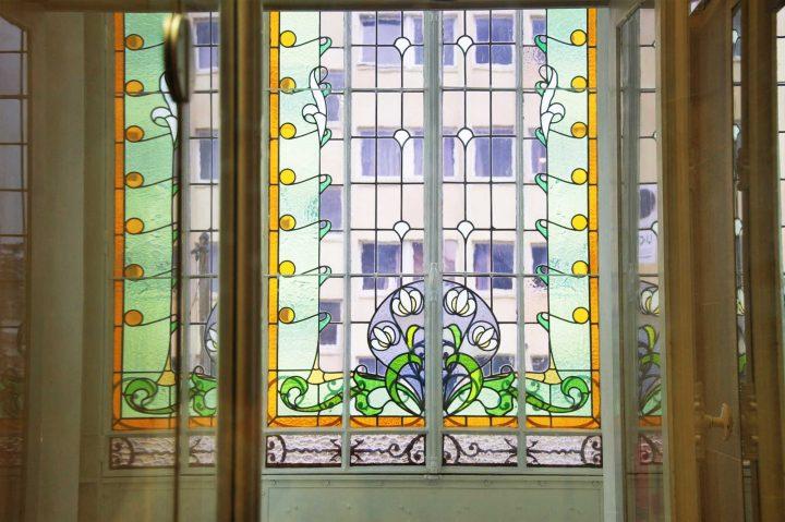Restauration vitrail Art-deco